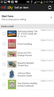 eBay Widgets - screenshot thumbnail