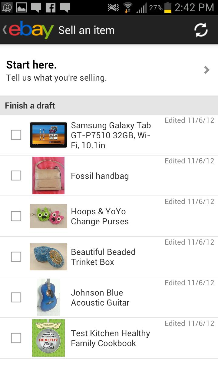 eBay Widgets screenshot #8