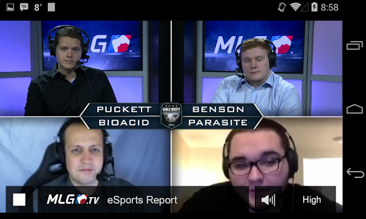 MLG.tv - screenshot thumbnail