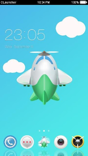 My Little Airplane Theme