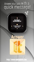 Screenshot of LiveView Answer-it SMS Free