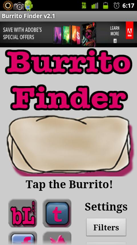 Burrito Finder Free - screenshot