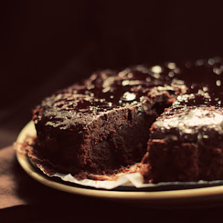 Vegan Chocolate Rum Cake with Sticky Rum Glaze