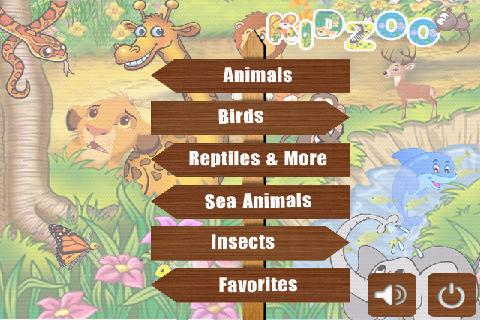 Kids Zoo Animal Sounds &Photos - screenshot