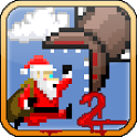 Super Mega Worm Vs Santa 2 icon