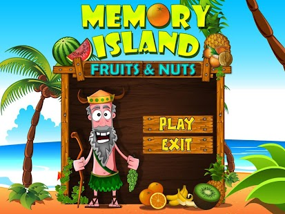 Memory Island: Fruits and Nuts