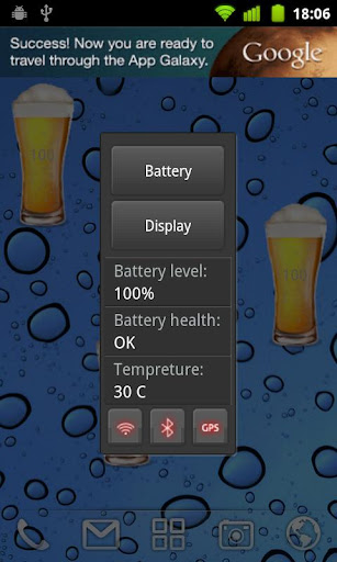 Beer battery widget v1.6.9