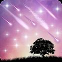 Meteor Star Live Wallpaper icon