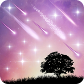 Meteor  Shower Live Wallpaper