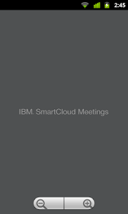 IBM SmartCloud Meetings - screenshot thumbnail