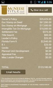 McNeese Title, LLC.- screenshot thumbnail