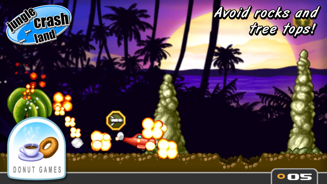 Jungle Crash Land- screenshot