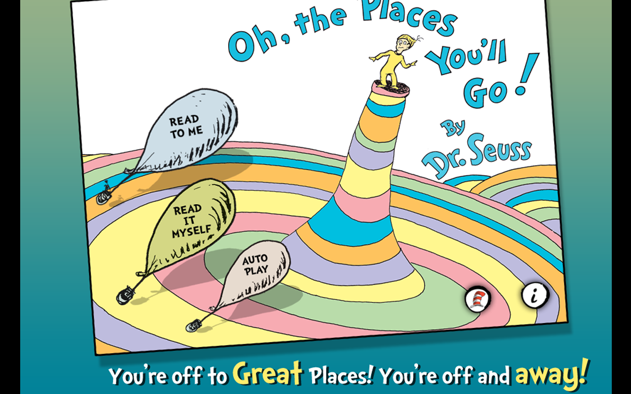 Oh, the Places You'll Go!- screenshot
