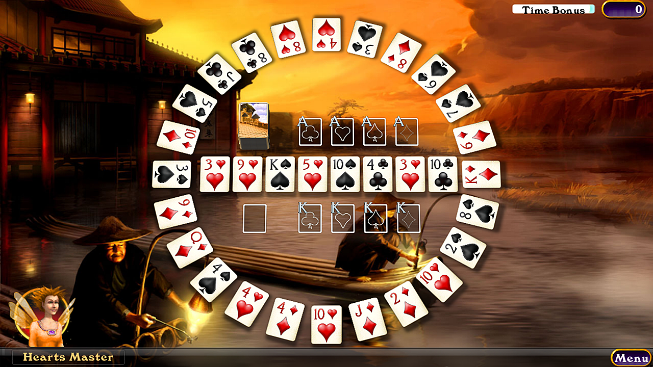 Hardwood Solitaire IV- screenshot
