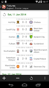 Soccer Super Scores (Football) - screenshot thumbnail