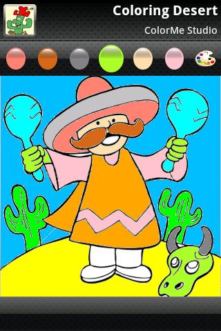 Coloring: Desert Fun - screenshot
