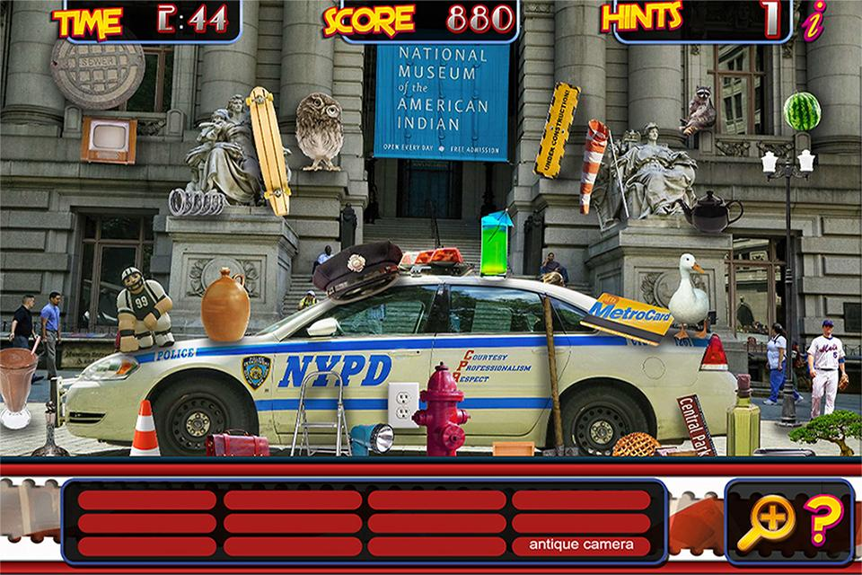 Hidden Object New York & Vegas- screenshot