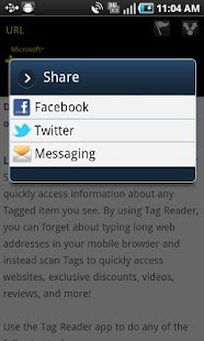 Microsoft Tag, QR & NFC Reader- screenshot thumbnail
