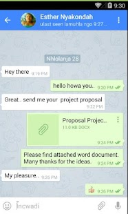 Ndeipi Messenger- screenshot thumbnail