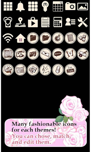 Cute Theme-Pink Roses- 1.0 Windows u7528 4
