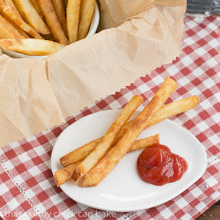Thin Crispy French Fries #BloggerCLUE