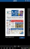 Screenshot of MF Milano Finanza Digital