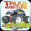 Truck adventure free icon