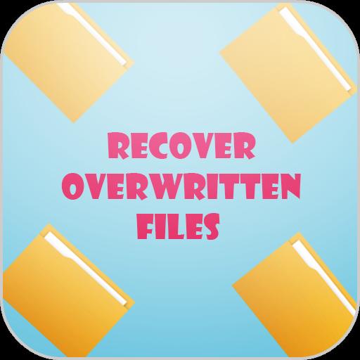 Recover Overwritten Files LOGO-APP點子