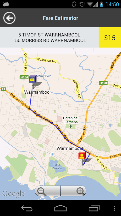 13CABS Warrnambool- screenshot