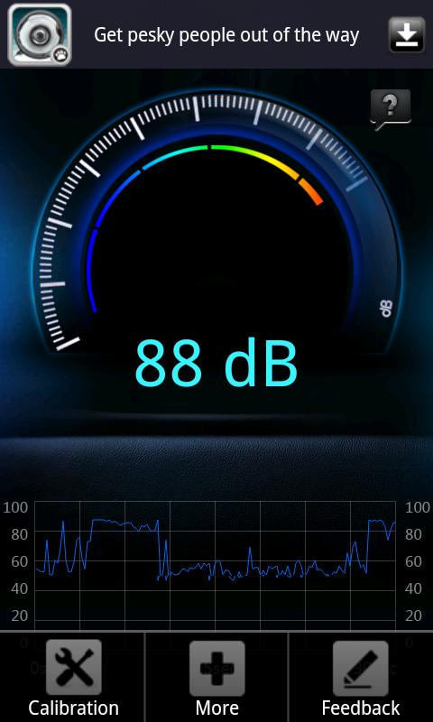 Decibel meter[Sound,Noise]- screenshot