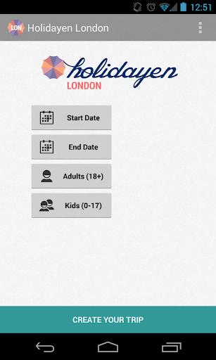 Holidayen London