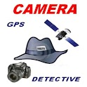 gps camera detective logo