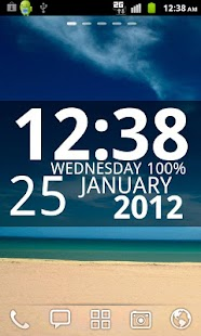 Digi Clock Widget- screenshot thumbnail