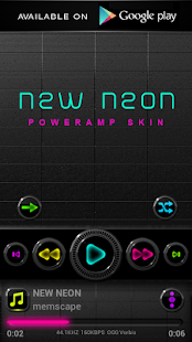 NEW NEON Digital Clock- screenshot thumbnail