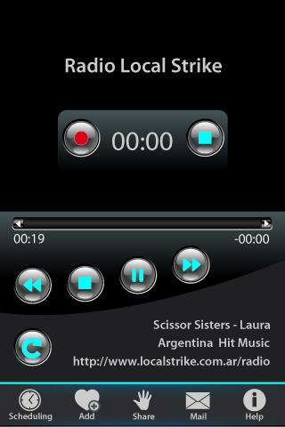 V Radio Recorder - screenshot