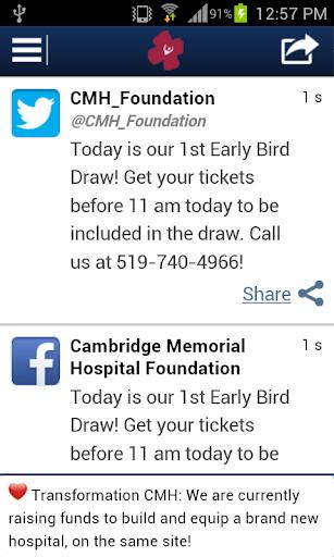 Cambridge Memorial Hospital Fd