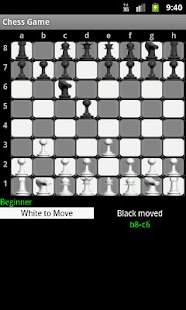 Chess Game - screenshot thumbnail