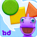 Shapes with Dally Dino HD icon