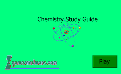 Chemistry Study Guide Unit 10