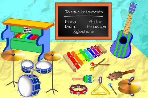 Music School For Toddlers - screenshot