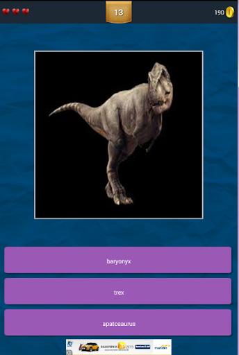 Tebak Gambar Dinosaurus