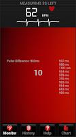 Screenshot of Precise Heart Rate
