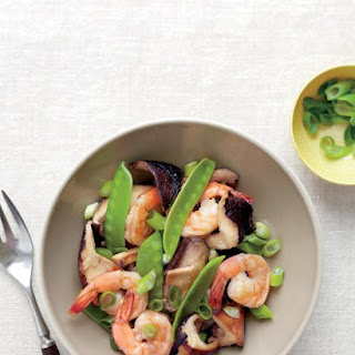 Shiitake, Shrimp, and Snow Pea Stir-Fry