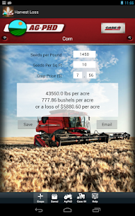 Harvest Loss Calculator- screenshot thumbnail