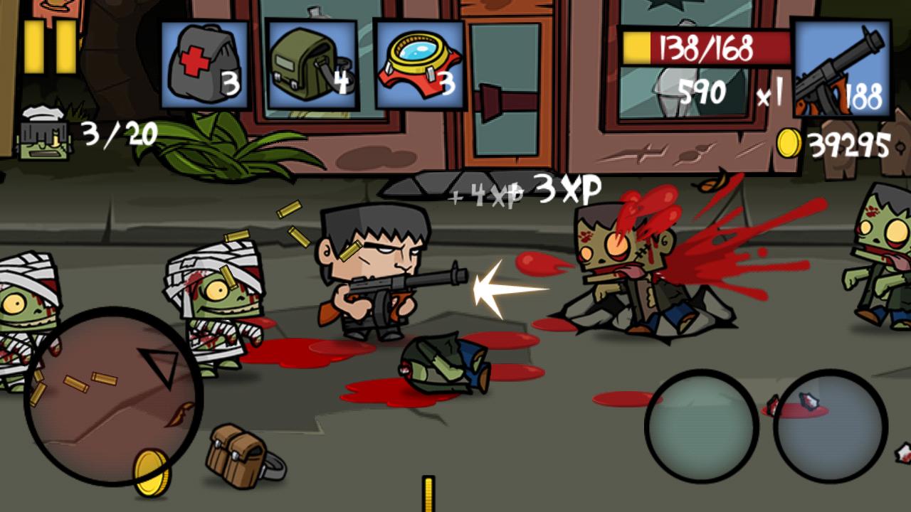 Hack game Age Of Zombies mod bom, unlock full màn chơi