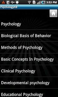 Psychology Handbook- screenshot thumbnail