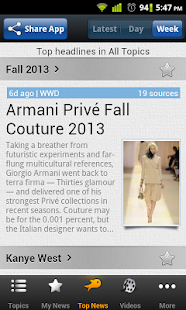 Fashion News - Riversip - screenshot thumbnail