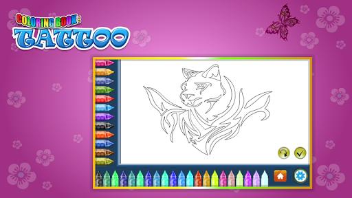 Coloring Book Tattoo 1.8.0 screenshots 12