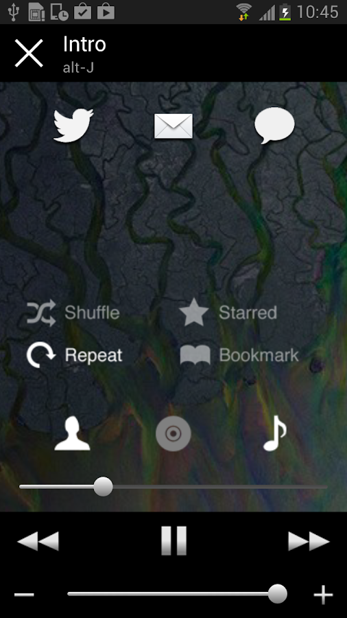 Remoteless for Spotify - screenshot