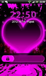 GO Locker Hearts Theme - screenshot thumbnail